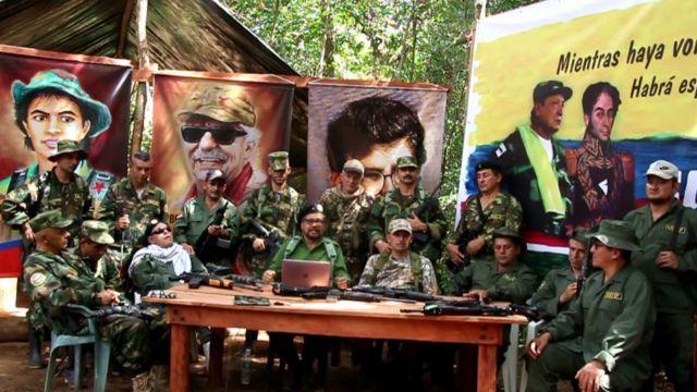 Las disidencias del as FARC
