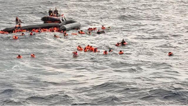 Akdeniz'de göçmen teknesi