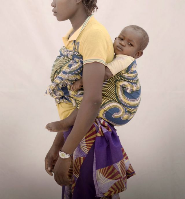 Aissa and her daughter Fati