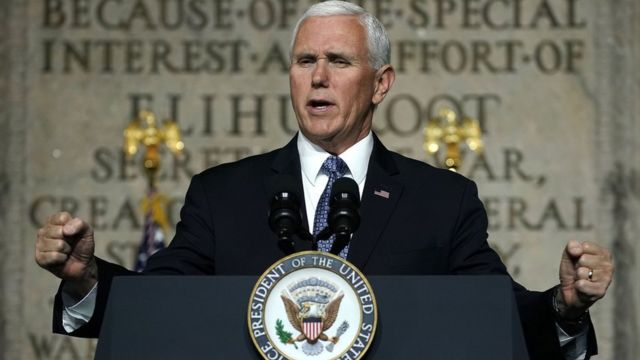 Vice President Mike Pence (file photo)