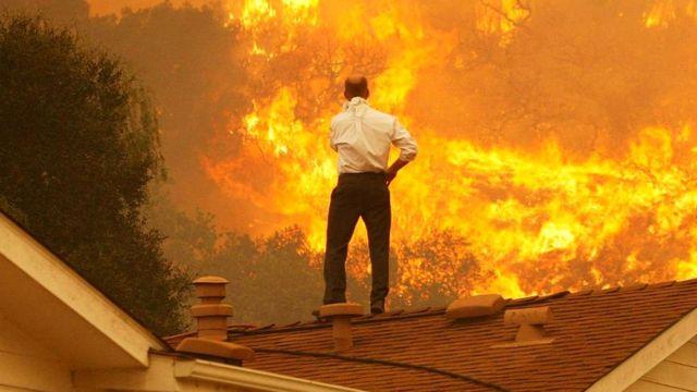 Страшный пожар