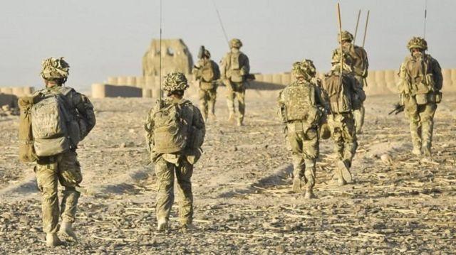 ارتش بریتانیا در افغانستان از شماری زیادی مترجم محلی استفاده کرده است