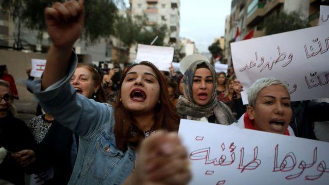 женщины на демонстрации