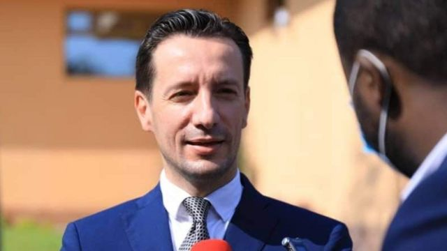 Luca Attanasio ambasaderi wa Italy muri DR Congo