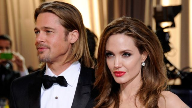 Pitt e Jolie se casaram na França