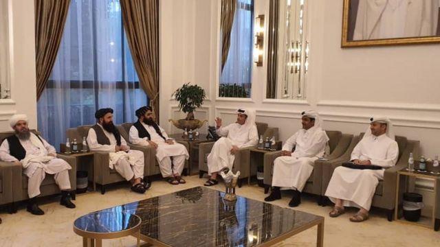 هیات طالبان با مقام های دولت قطر هم دیدار کردند