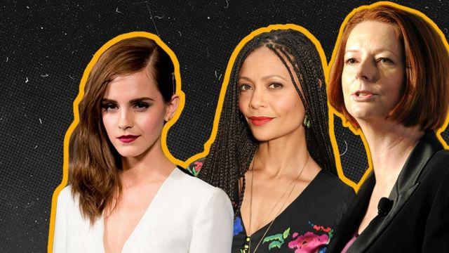 Emma Watson, Thandiwe Newton ve Julia Gillard