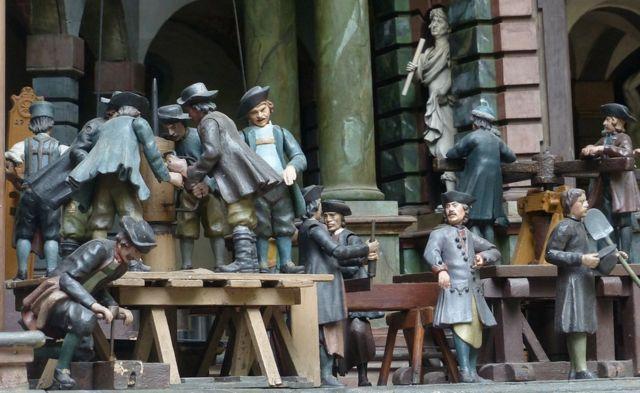 Teatro mecánico de agua del Palacio Hellbrunn en Salzburgo, Austria.