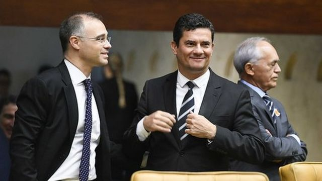 Sergio Moro e André Mendonça