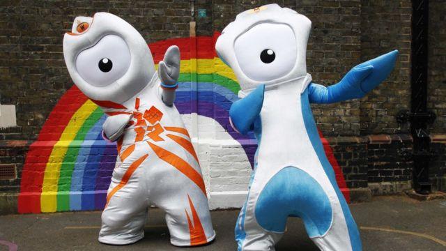 Mascotes olímpicos dos Jogos de Londres