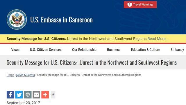 Why Southern Cameroon Wan Comot Bbc News Pidgin