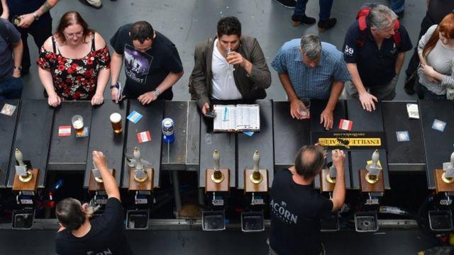 Festival de cerveza en Reino Unido