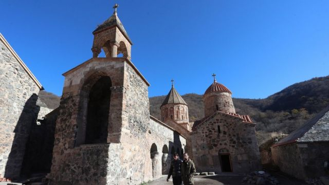 Армянский монастырь Дадиванк
