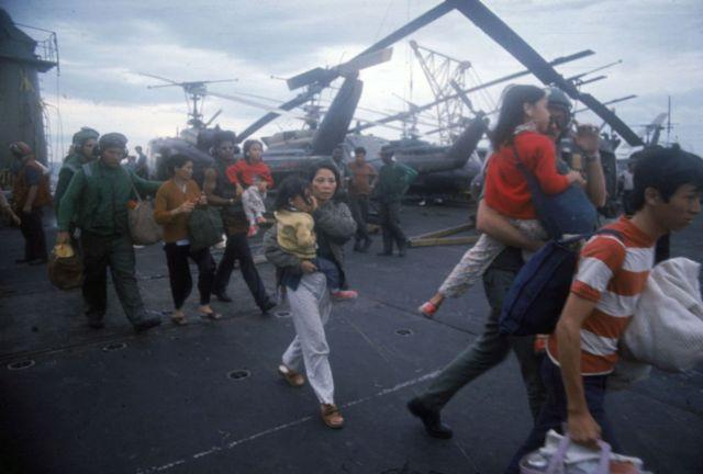 Saigon trong thang Tư 1975