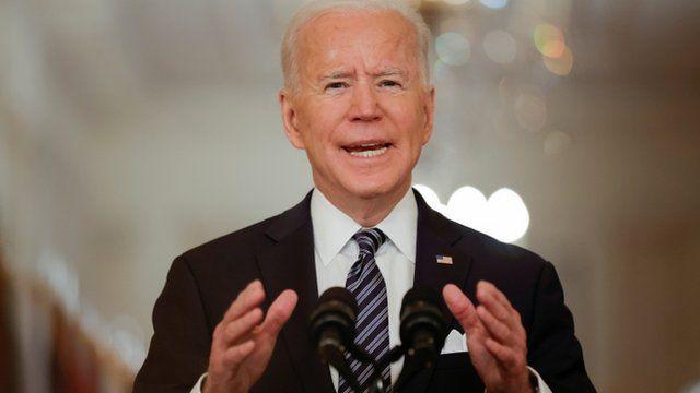 Joe Biden, President of the United States