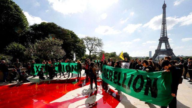 """Организаторы протестов """"Восстание против вымирания"""" заявили, что исследование Ченовет вдохновило их"""