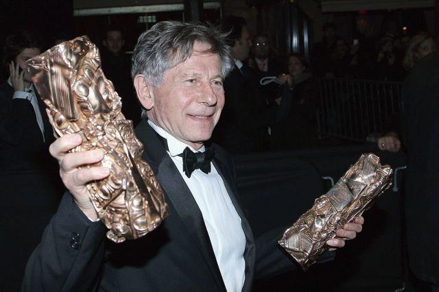 پولانسکی در سال ۲۰۱۱ دو جایزه سزار به دست آورد