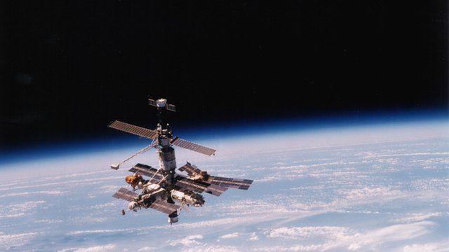 Mir spacecraft