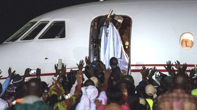 Yahya Jammeh a quitté la Gambie le 21 janvier après sa défaite contre l'actuel président Adama Barrow