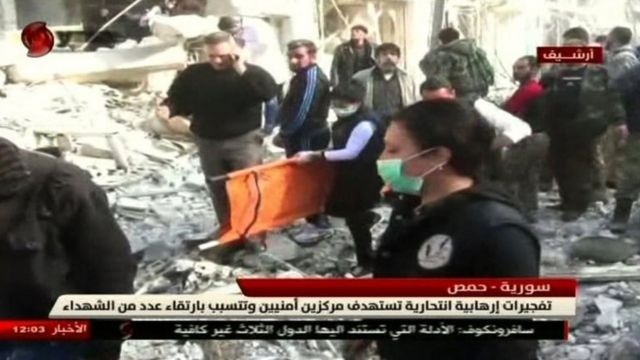حملات حمص