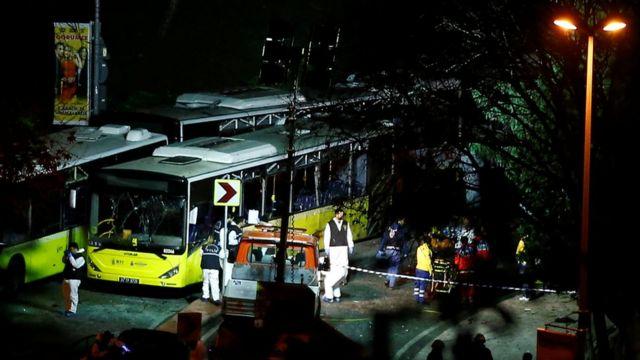 तुर्की में विस्फोट