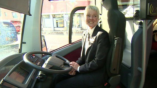 Carole Hind, Britain's best bus driver