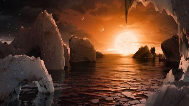 А так може виглядати поверхня планети TRAPPIST-1f