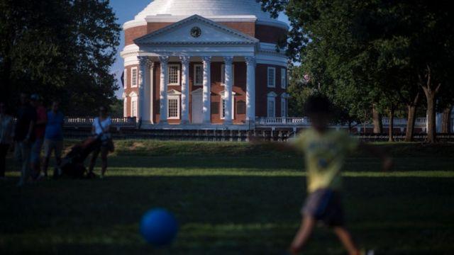 美国大学校园(photo:BBC)