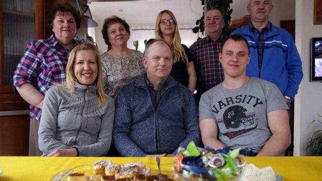 La familia de Rafa
