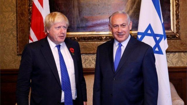 بنیامین نتانیاهو، نخستوزیر اسرائیل در صدمین سالگرد اعلامیه بالفور به لندن سفر کرده