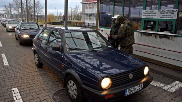Trạm kiểm soát biên giới Ba Lan
