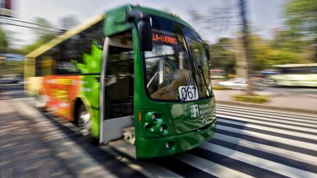 Bus en Ciudad de México
