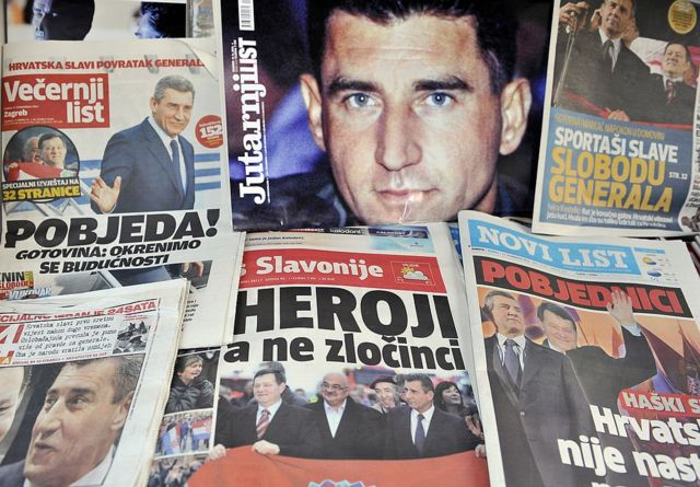 хорватські газети