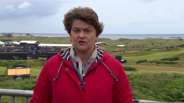 Arlene Foster: 'Serious negotiations' to restore NI devolution