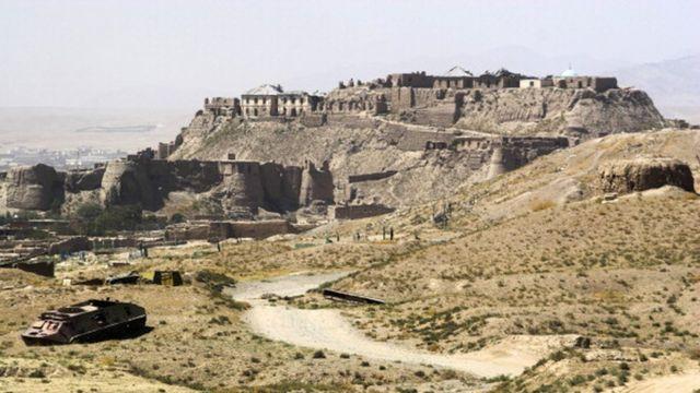 د غزني تاریخي بالاحصار