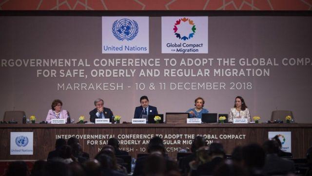Conferencia ONU Marrakech.