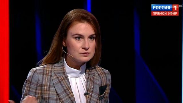 Бутина в программе Соловьева