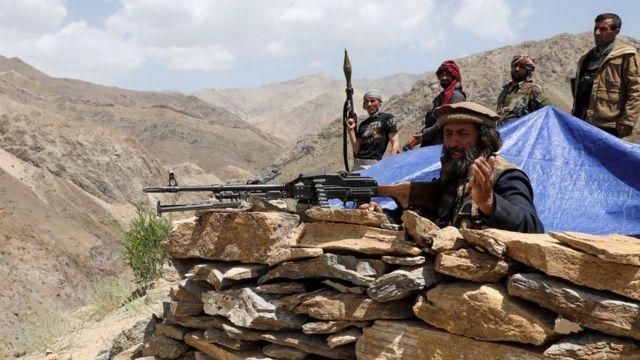 Талибам противостоят такие подразделения, сформированные из местных жителей