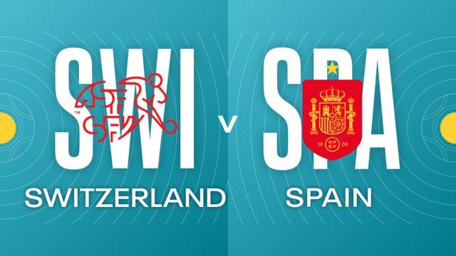 Switzerland v Spain badges