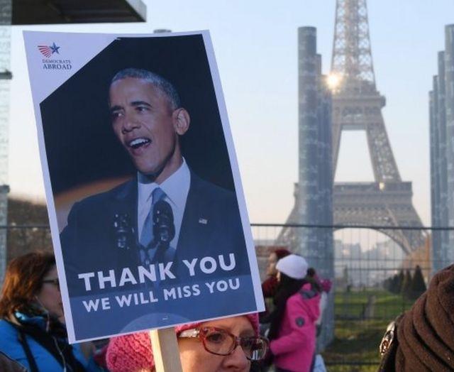 Barack Obama wuxuu taageero fiican aalaaba ka haystaa dadka Faransiiska