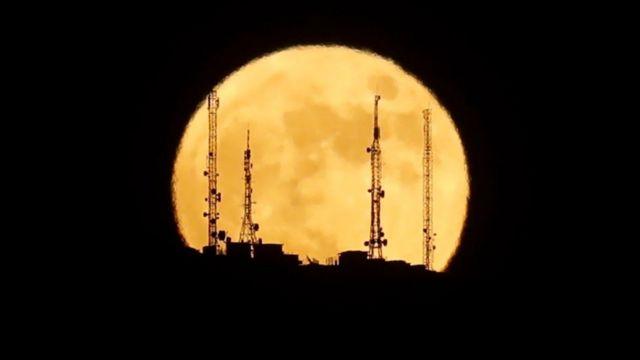 Television antennas in Ronda