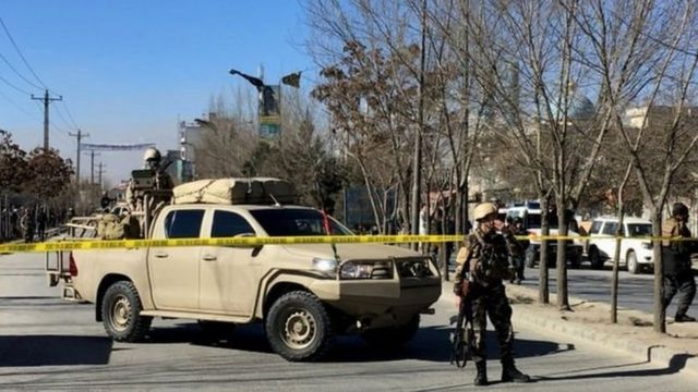 کابل، دھماکہ
