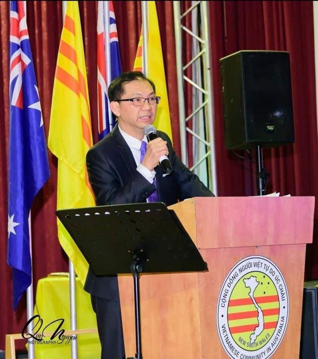 Ông Paul Huy Nguyễn, Chủ tịch Cộng đồng Người Việt Tự do ở tiểu bang New South Wales