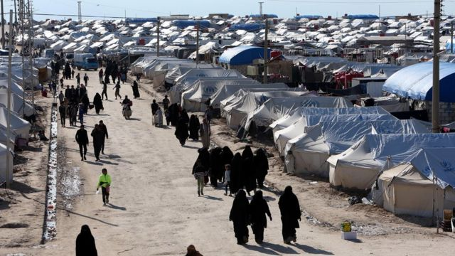 معتقل الحول يضم 28 ألف مواطنة وطفل يحملون الجنسية السورية بين أكثر من 68 ألف سيدة وطفل