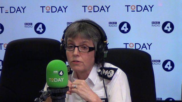 Met Police Commissioner Cressida Dick