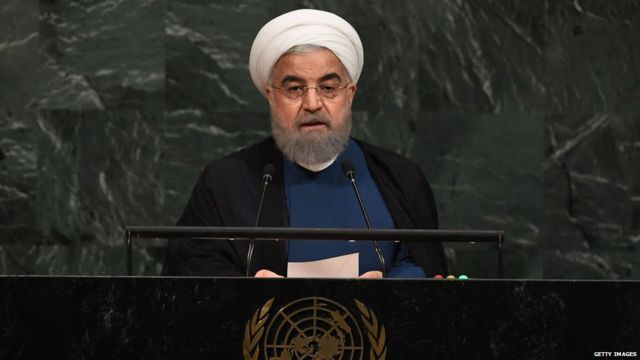 इराणचे राष्ट्राध्यक्ष हसन रुहानी