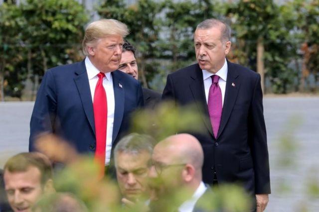 Trump ve Erdoğan geçen yıl düzenlenen NATO zirvesinde