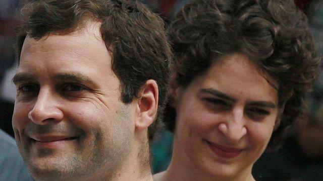 राहुल गांधी प्रियंका गांधी