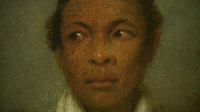 portrait of Ira Aldridge
