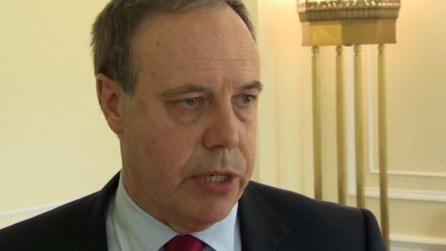 "Nigel Dodds said the DUP were prepared to ""take action to protect the integrity of Northern Ireland"""